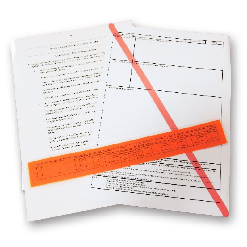 Documentos plastificados
