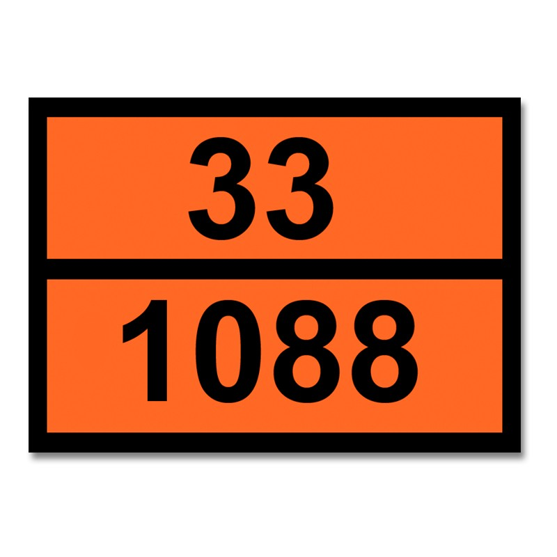 Panel adhesivo con numeración