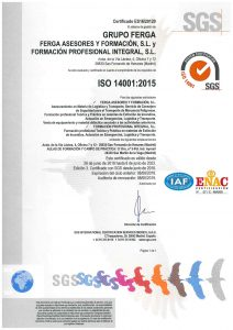 ISO 14001_GrupoFERGA